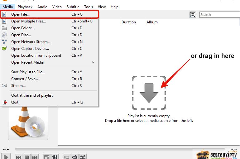 Instalare lista IPTV pe VLC