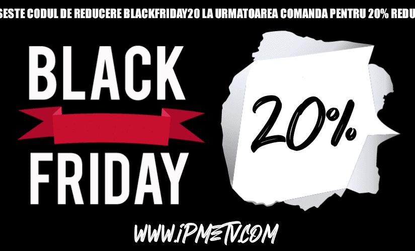 IPTV Romania – Reducere Black Friday 2020