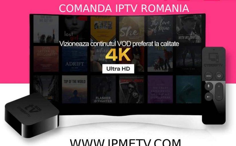 Vrei sa vezi canale TV 4K Romania?