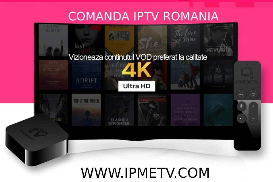 canale tv 4k romania